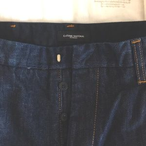 Dark solid Navy blue Costume National Homme jeans